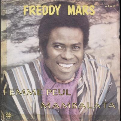 Freddy Mars mambalata / femme peul