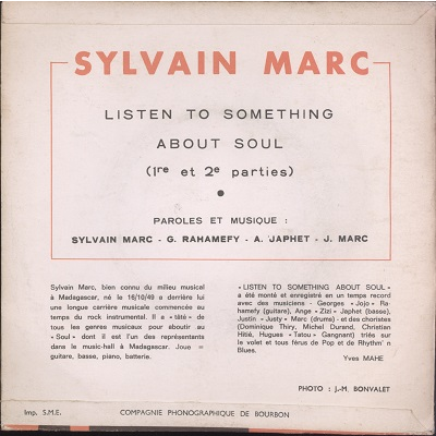 Sylvain Marc listen to something about soul