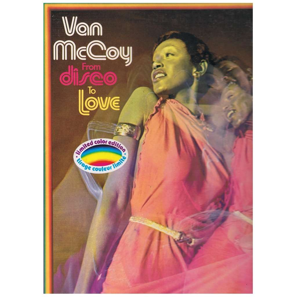 VAN MCCOY FROM DISCO TO LOVE -limites colour edition green vinyl-