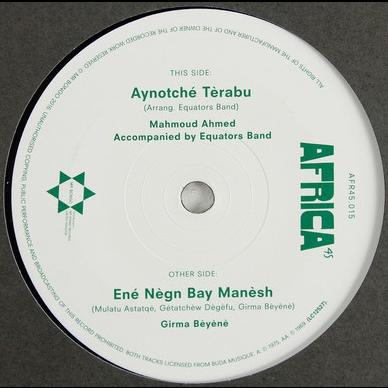 Mahmoud Ahmed / Seyoum Gèbrèyès & Wallias Band Aynotché Tèrabu / Mètch Ené Terf Fèlèghu