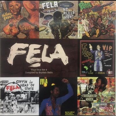 Fela Kuti Vinyl Box Set 4