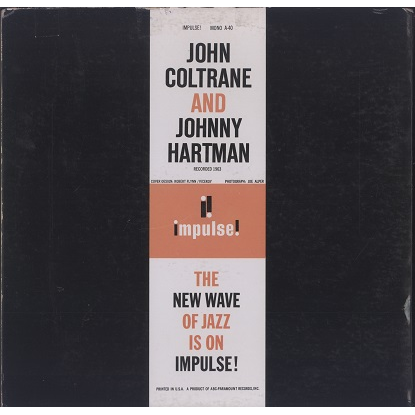 John Coltrane and Johnny Hartman s/t