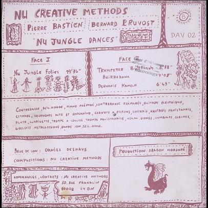 Nu Creative Methods (Pierre Bastien) Nu jungle dances