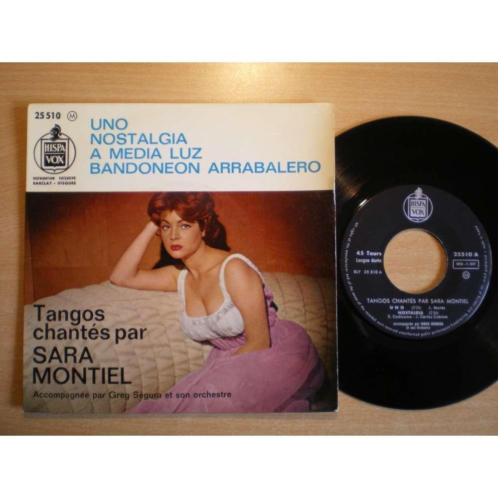 Sara Montiel - Greg Segura Et Son Orquestre Orques Tangos Chante Par Sara Montiel - Uno +3