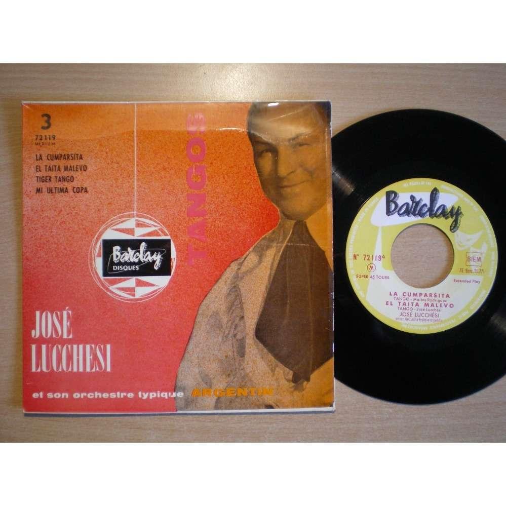 Jose Lucchesi Et Son Orchestre Typique Argentin Tangos - 3 - La Cumparsita +3