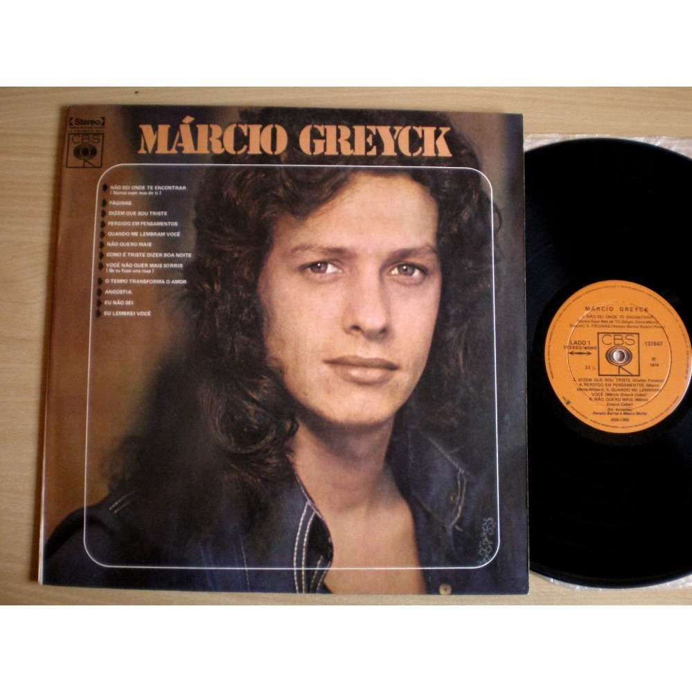 Marcio Greyck S/T - Nao Sei Onde Te Encontrar +11