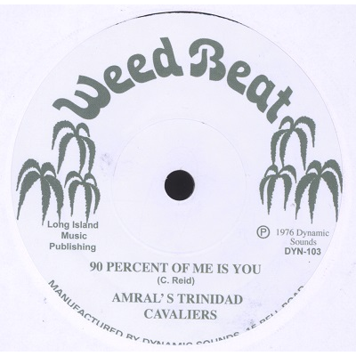 Amral's Trinidad Cavaliers / Veriable Reluctance 90 percent of me is you / Blow in my ear