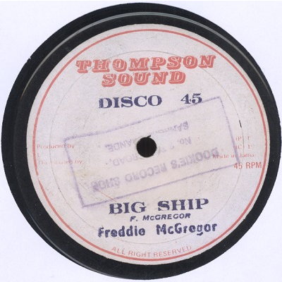 Freddie McGregor Big ship / Reggae on it