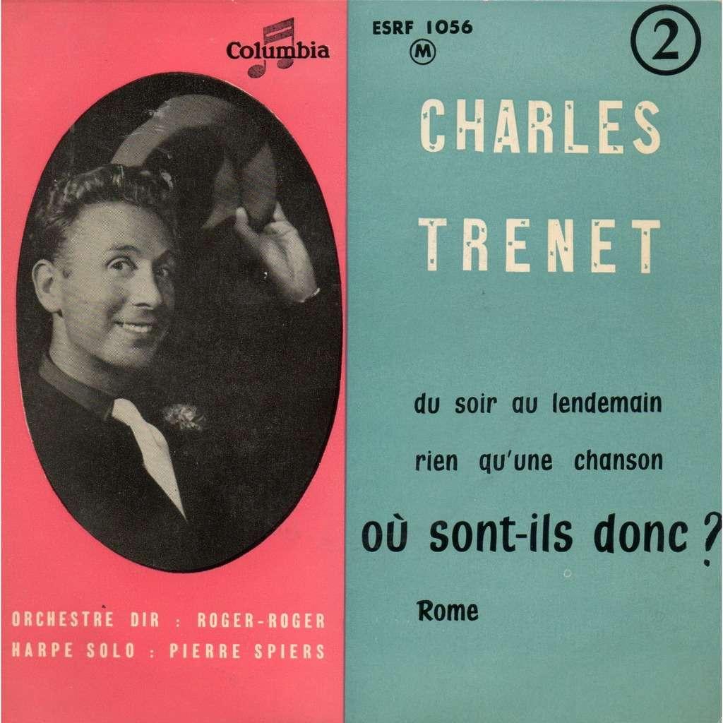 Charles Trenet Du soir au lendemain + 3