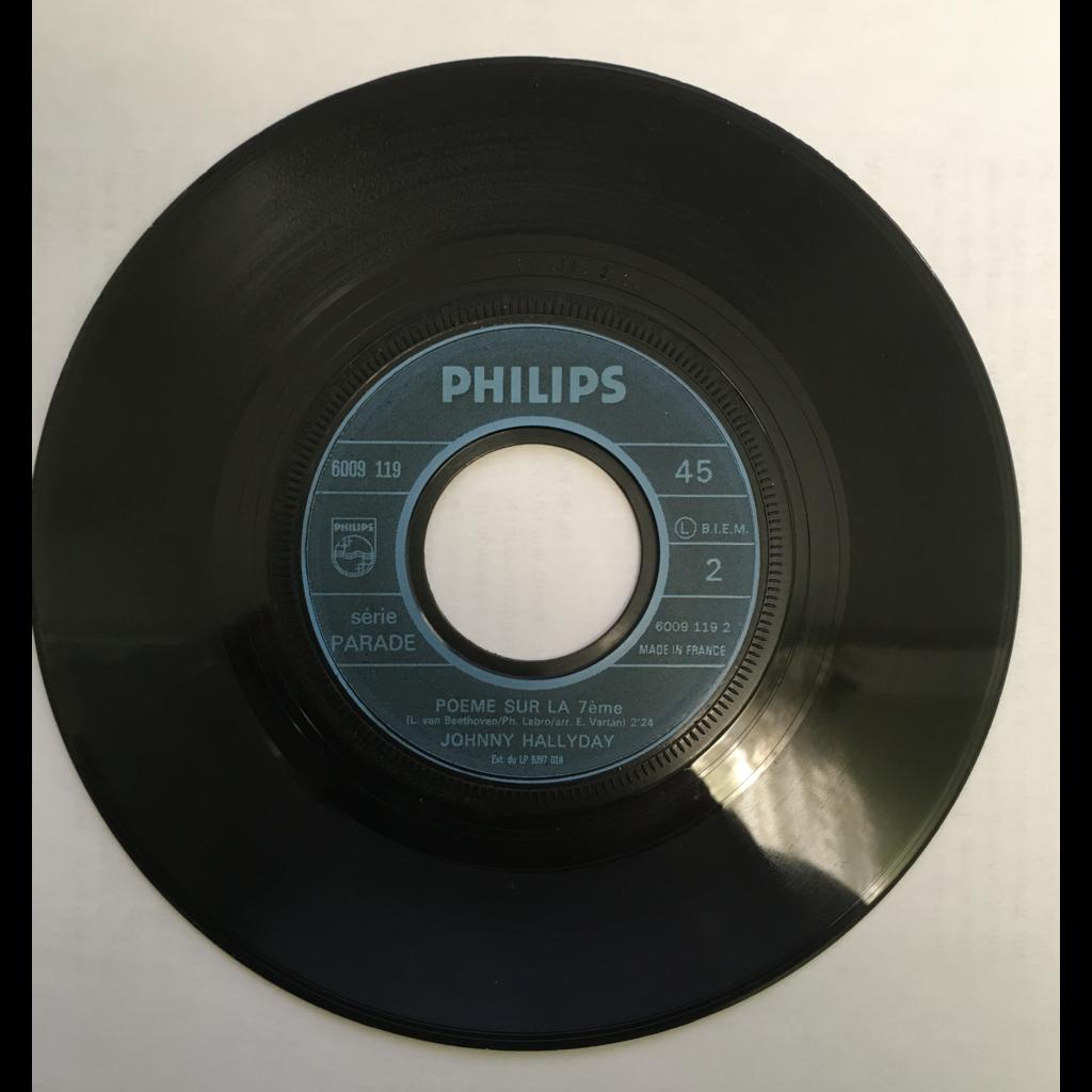 HALLYDAY, Johnny Essayez - Poème sur la 7ème (JUKE BOX ,,,,RARE)
