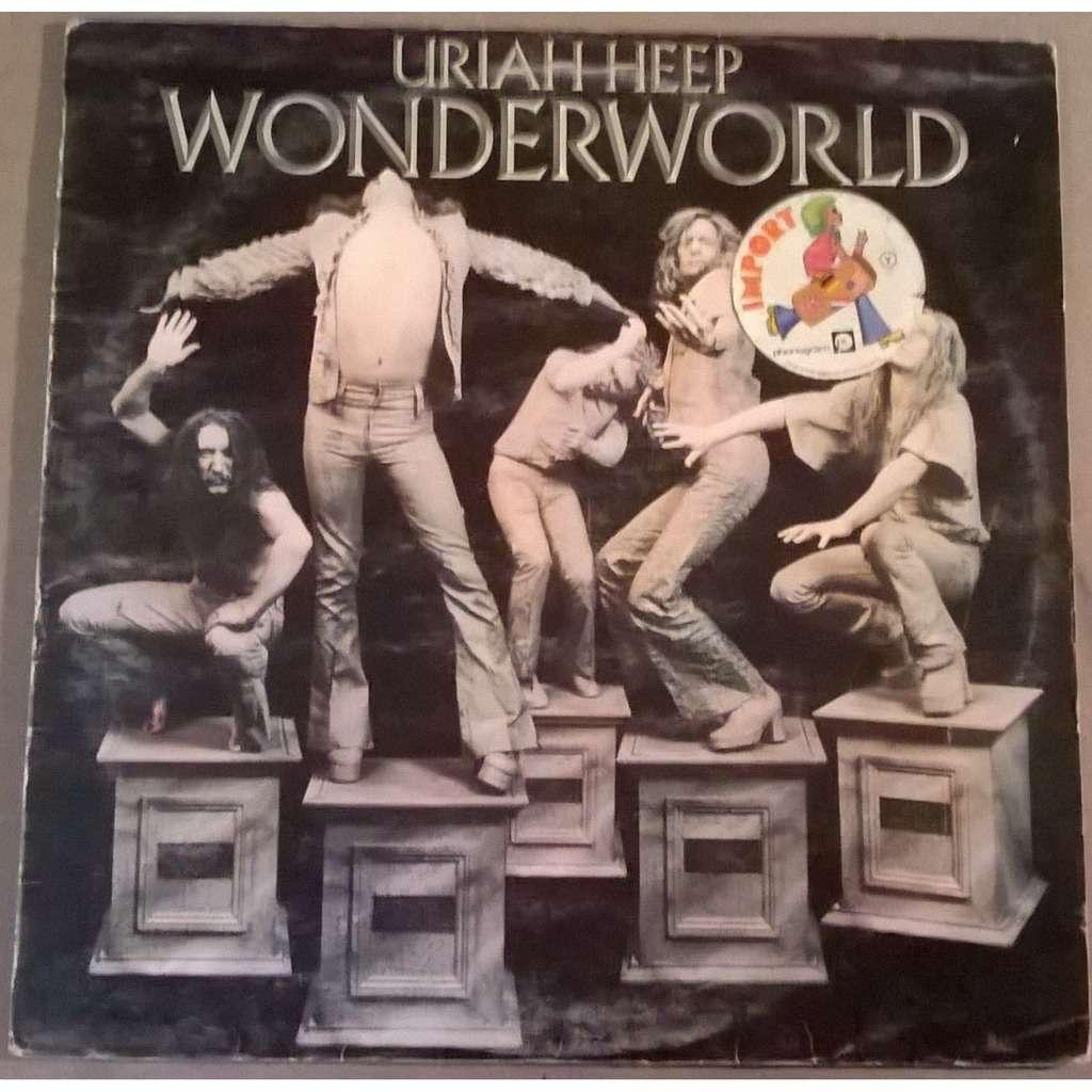 Wonderworld By Uriah Heep Lp With Captaindiggin Ref 119056571
