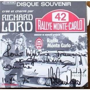 Richard Lord & R. Cavassuto Rallye Monte Carlo / Rallye Monte Carlo (Instrumental Brasil)