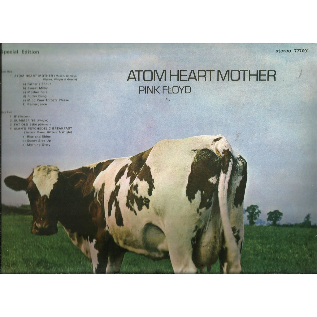 Atom Heart Mother By Pink Floyd Lp With Rockinronnie