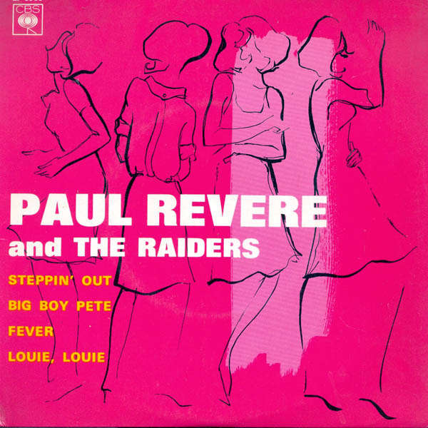 paul revere & the raiders Steppin' out