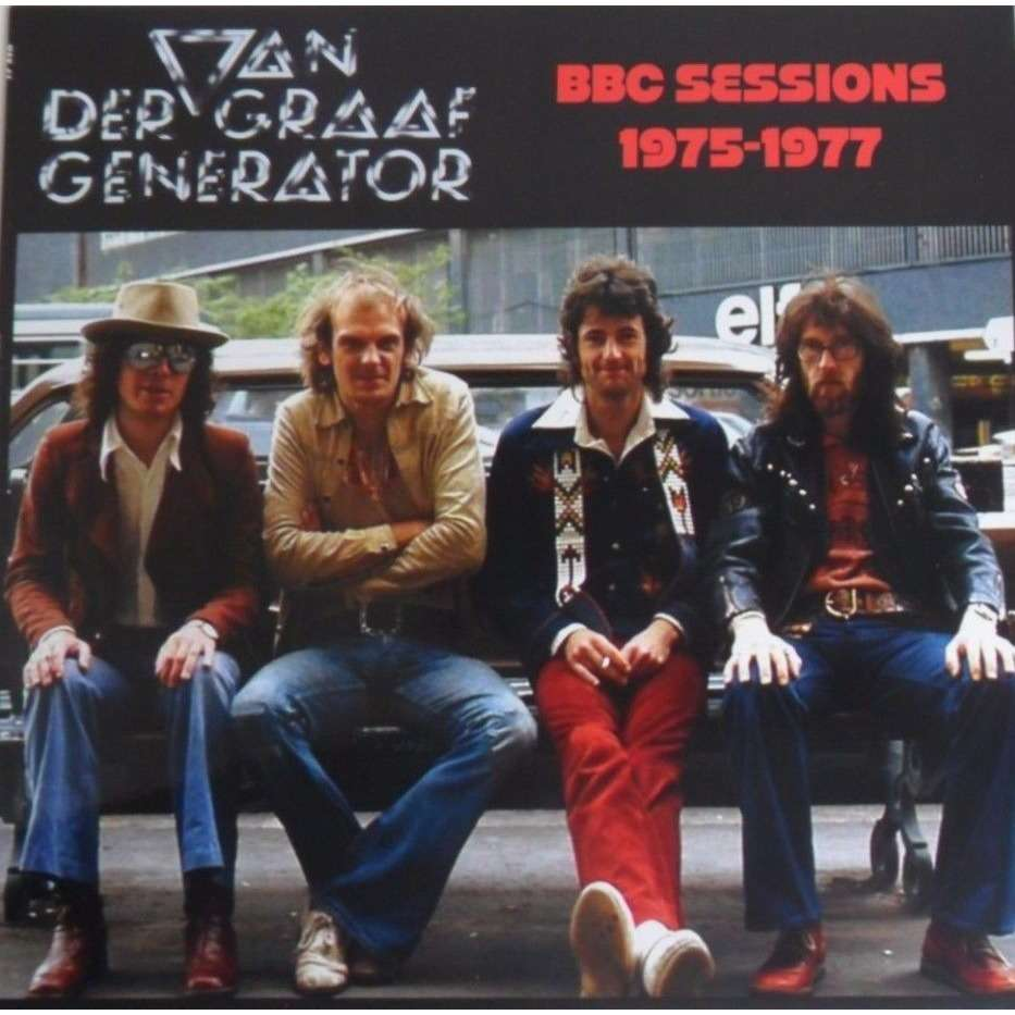 Van Der Graaf Generator BBC Sessions 1975-1977 (lp)