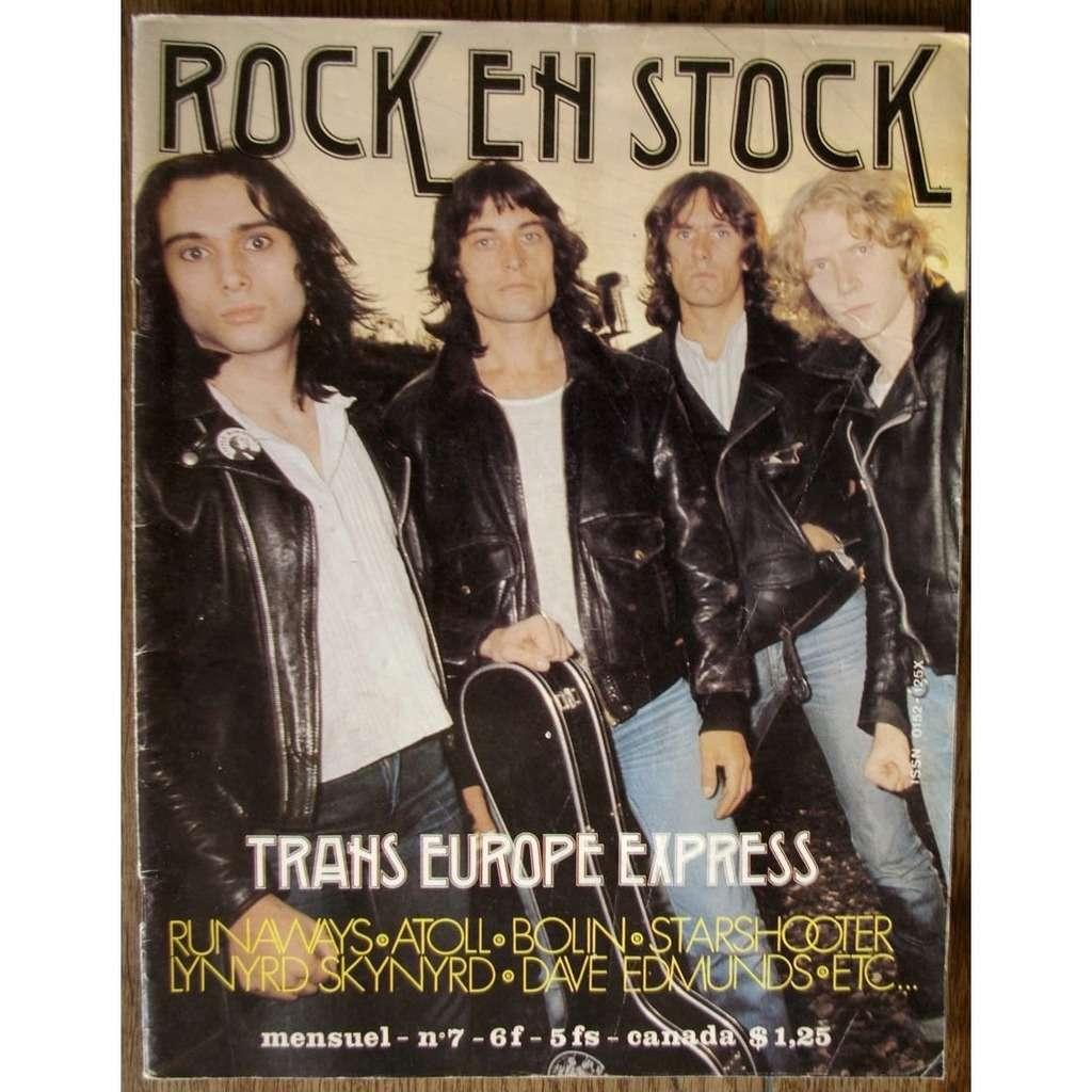 revue ROCK EN STOCK N° 7 (1977)
