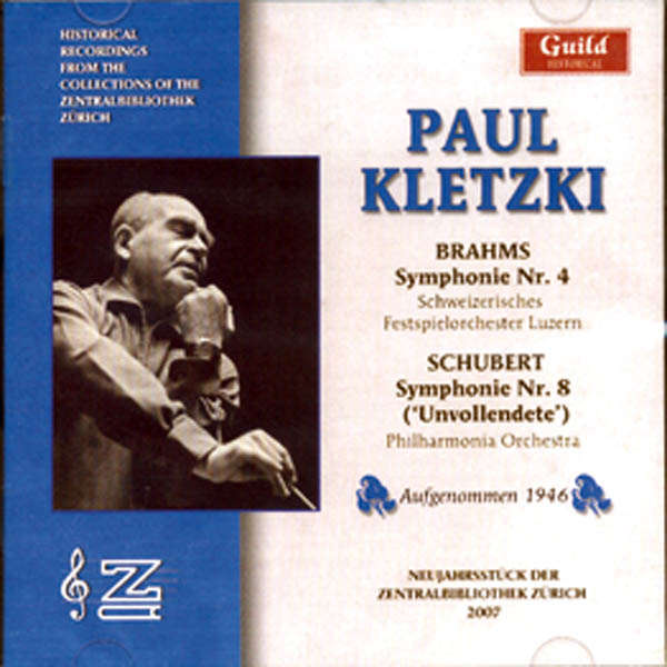 Paul Kletzki dirige... Brahms - Schubert