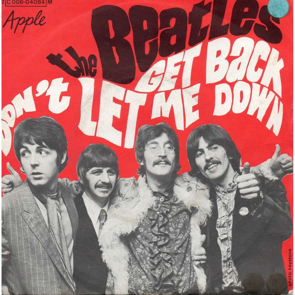 the beatles Get back , don't let me down