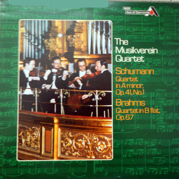 The Musikverein Quartet Scumann - Brahms