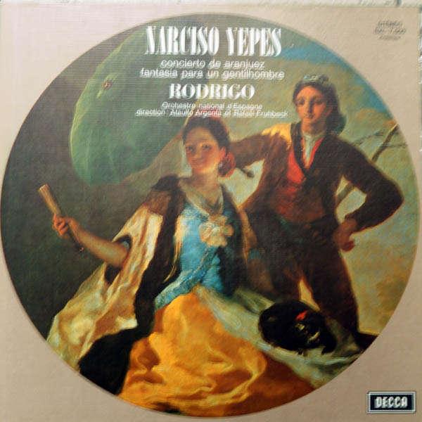narciso yepes Rodrigo : Concierto de aranjuez