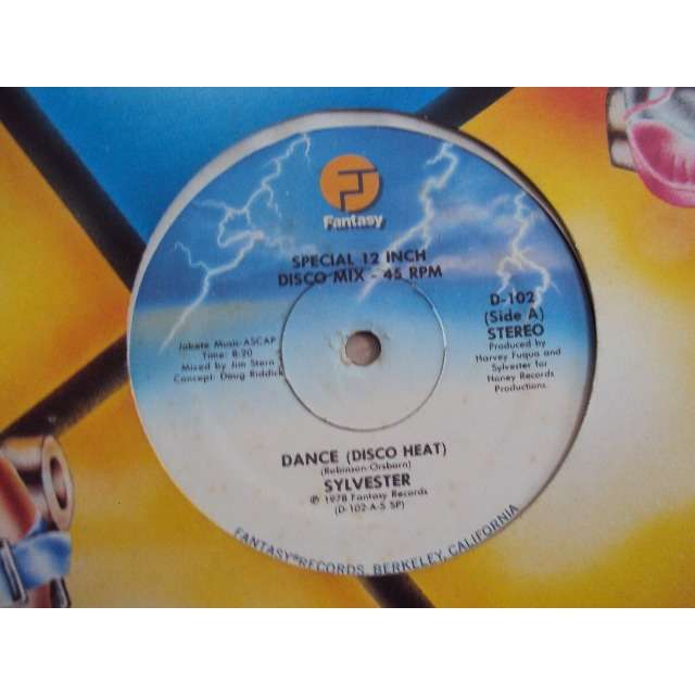 Sylvester Dance (SPECIAL 12 DISCO MIX 8'20) / You Make Me Feel (SPECIAL 12' DISCO MIX 6'17) 1978 USA