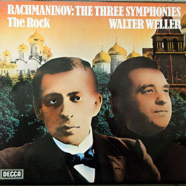 Walter Weller Rachmaninoff,: Les 3 Symphonies