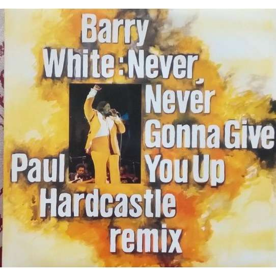 WHITE Barry - ( Paul Hardcastle remix ) Never never gonna give you up ( Paul Hardcastle remix )