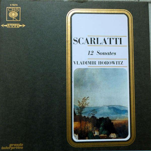 vladimir horowitz Scarlatti : 12 sonates