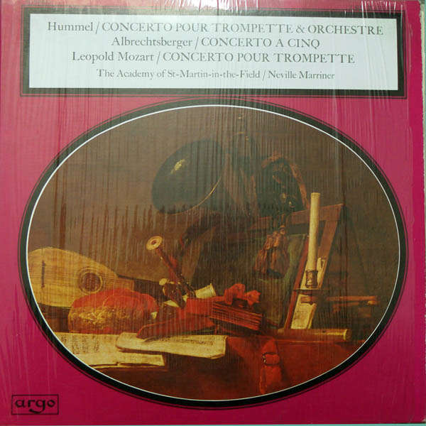 neville marriner Hummel : Concerto pour trompette