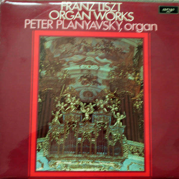 Peter Plabyavsky, organ Liszt : Organ works