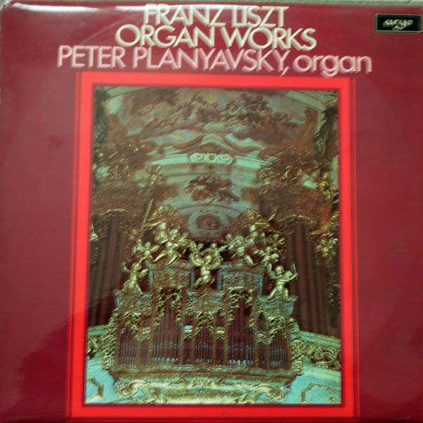 Peter Plabyavsky, organ Liszt : Organ works