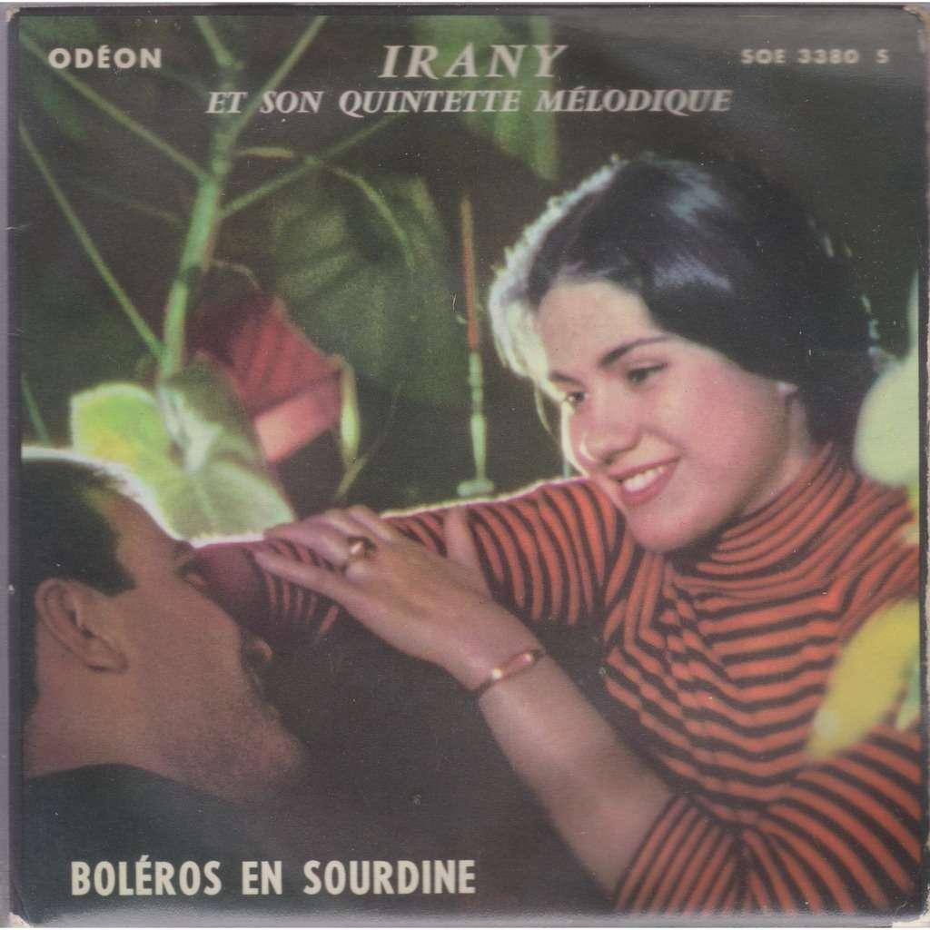 irany et son quintette mélodique boléros en sourdine