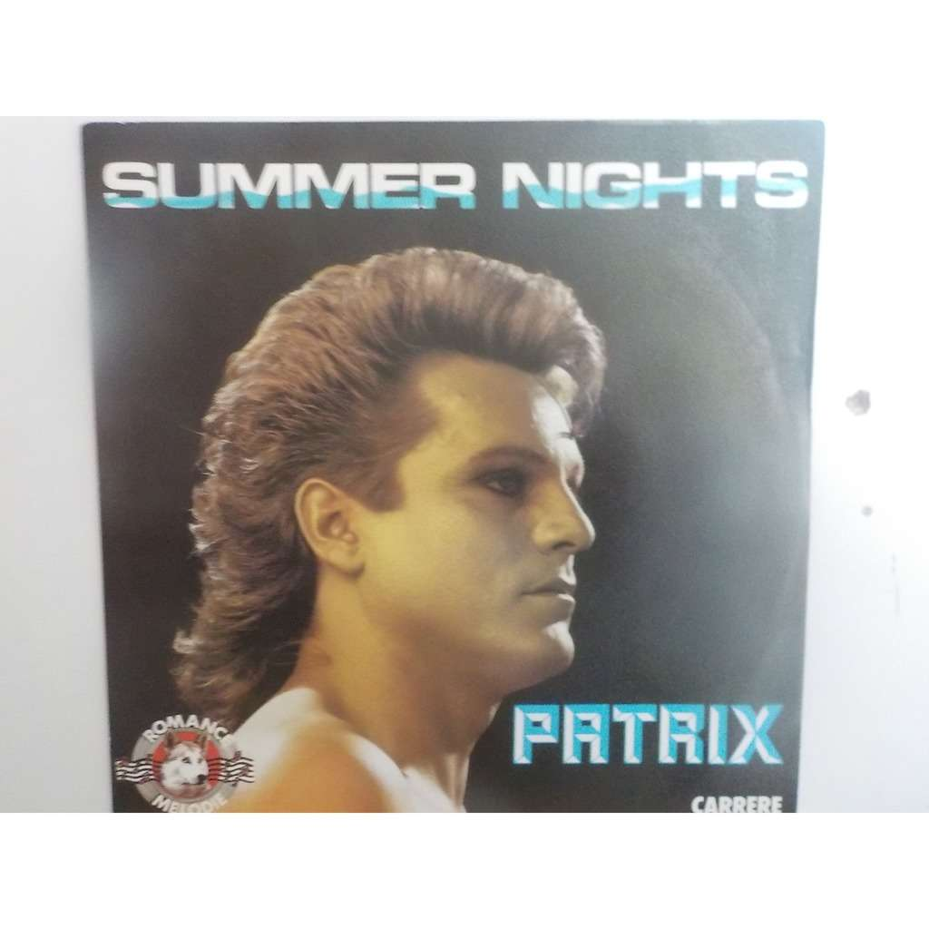 patrix summer night / california