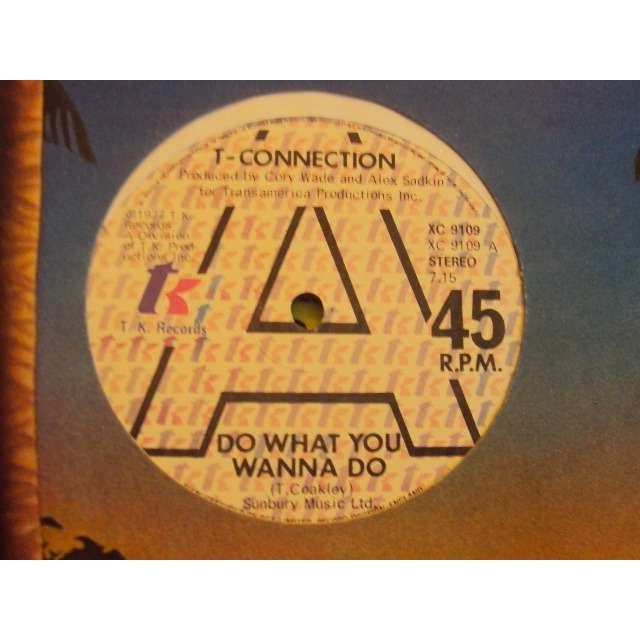 T-Connection Do What You Wanna Do (VOCAL 7'15) 1977 UK (MAXIBOXLP)
