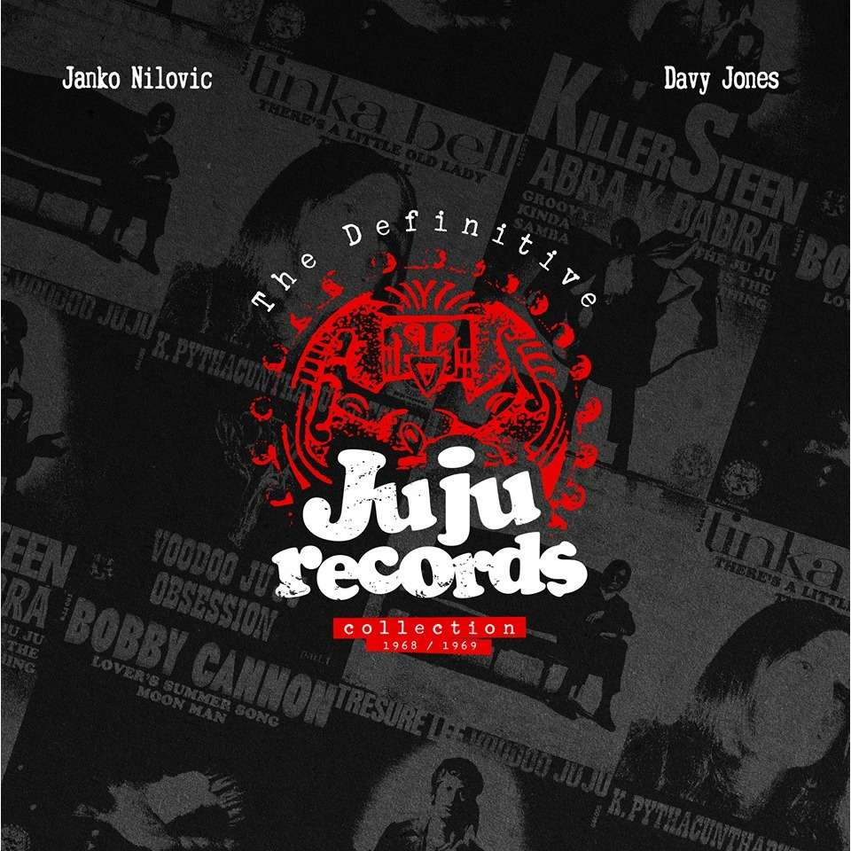 broc recordz : JANKO NILOVIC & DAVY JONES THE DEFINITIVE JU JU RECORDS COLLECTION - LP x 2