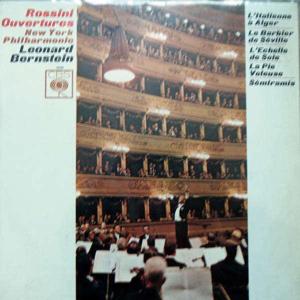 leonard bernstein / new york philharmonic Rossini : Ouvertures