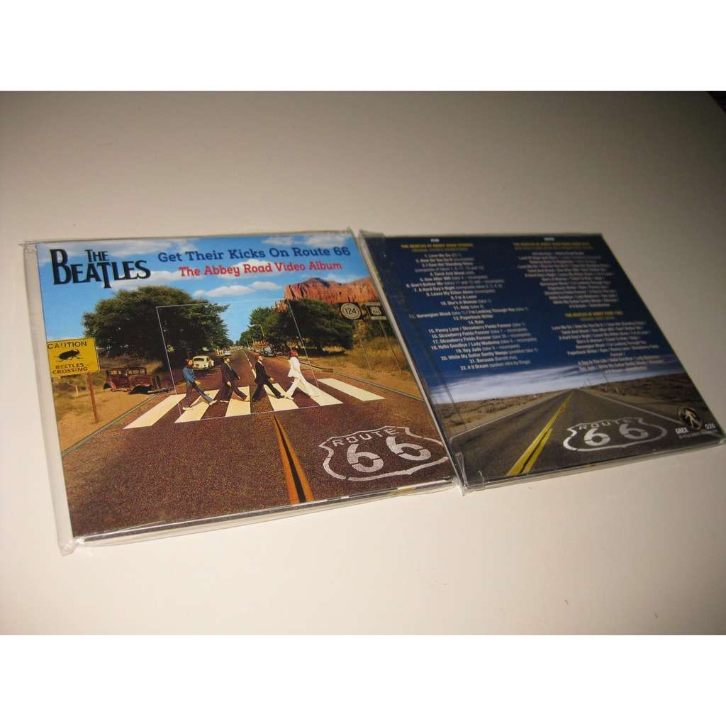 THE BEATLES GET THEIR KICKS ON ROUTE 66 THE ABBEY ROAD VIDEO ALBUM