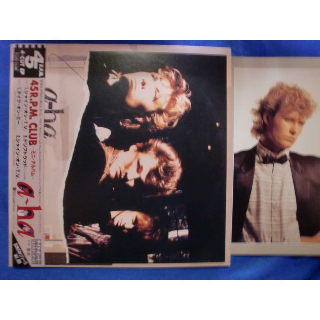 a-ha 45r.p.m. club (Japanese original mini album)