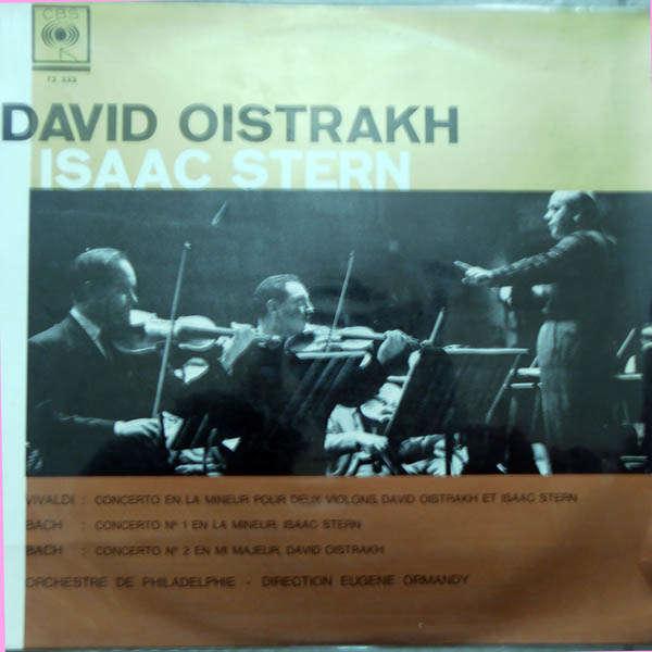 Isaac Stern & David Oistrakh Bach - Vivaldi