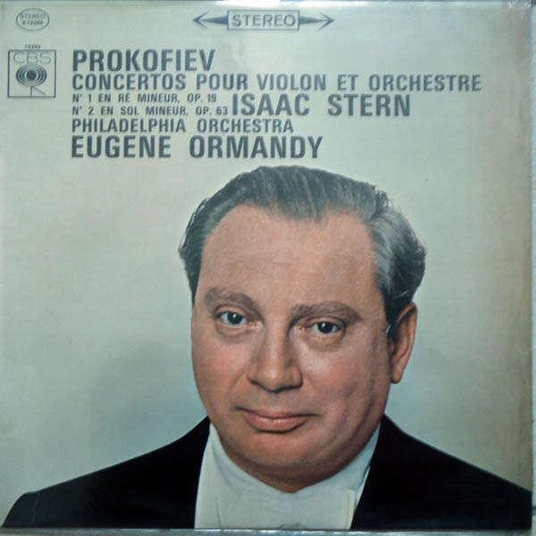 Isaac Stern Prokofiev : Concertos pour violon