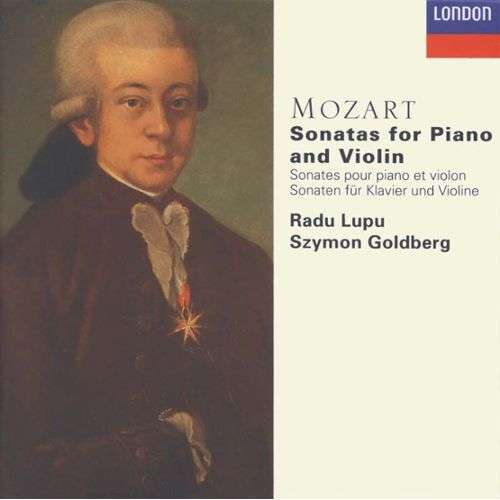 Radu Lupu -SZYMON GOLDBERG MOZART.SONATAS FOR PIANO AND VIOLON