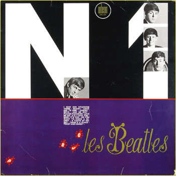 RARE FRENCH LP - N ° 1 The Beatles