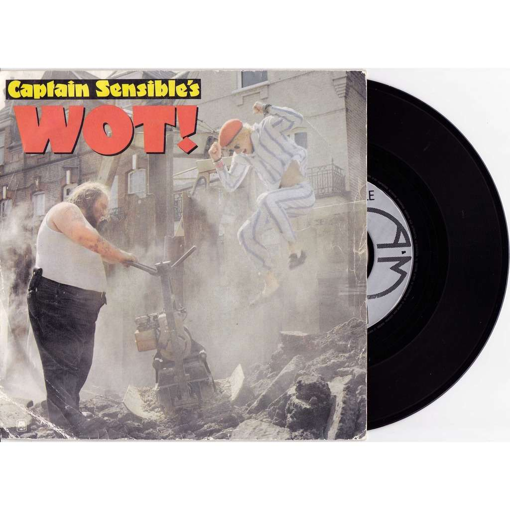 CAPTAIN SENSIBLE'S WOT / STRAWBERRY DROSS