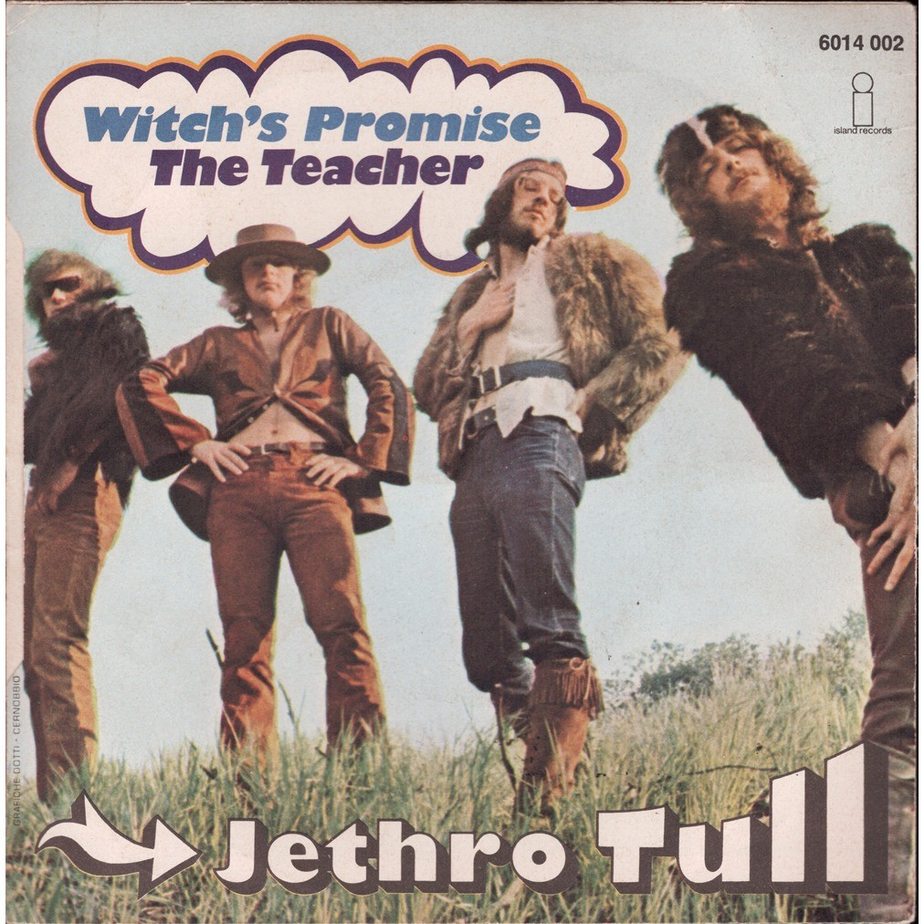 Jethro Tull ‎ Witch's Promise / The Teacher