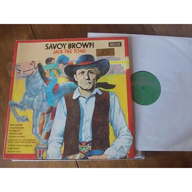 savoy brown Jack the toad