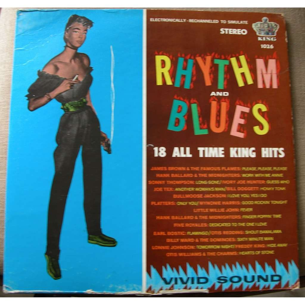 rhythm and blues 18 all time king hits
