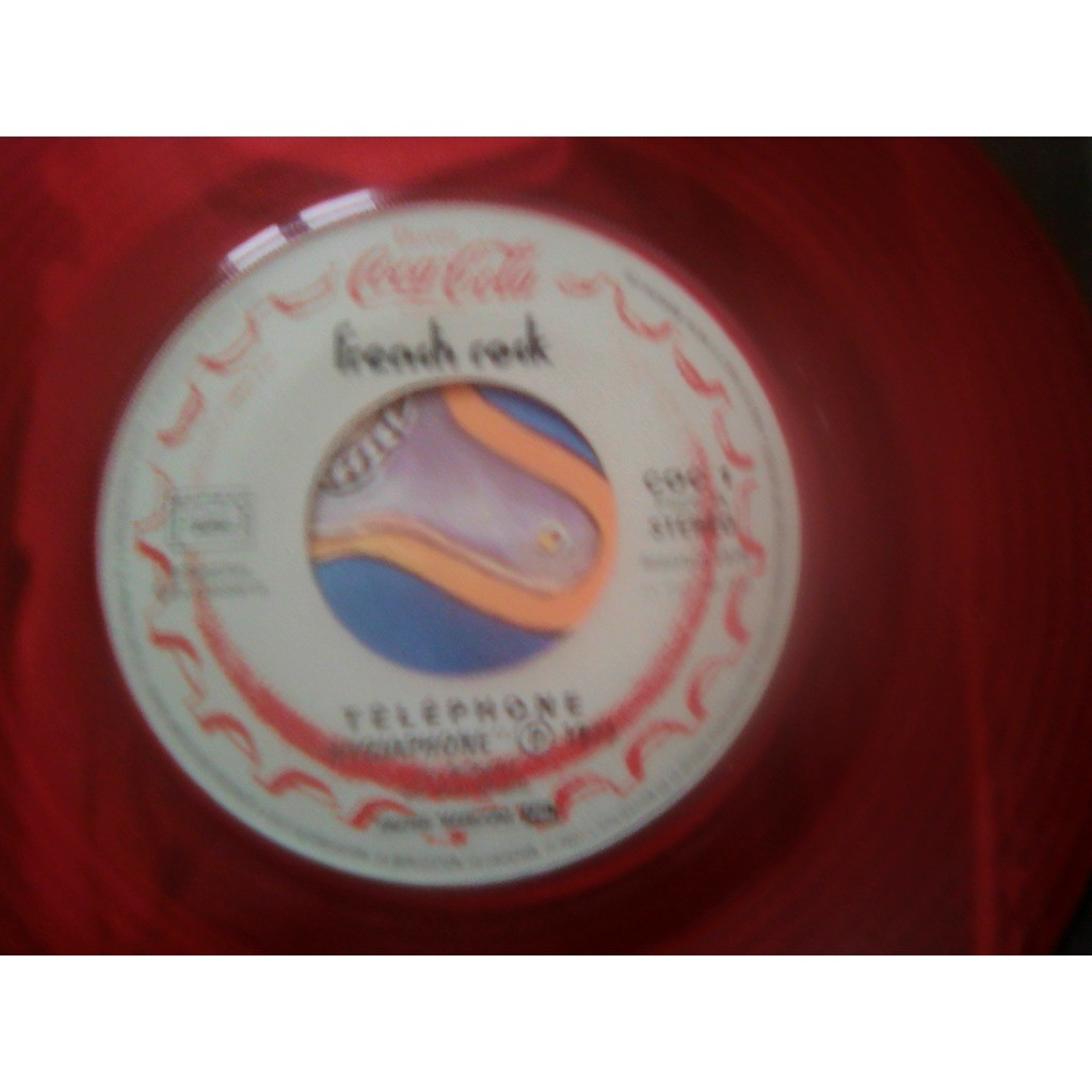 Téléphone / Starshooter - French Rock (7, Single, Téléphone / Starshooter - French Rock (7, Single, Promo, Red)
