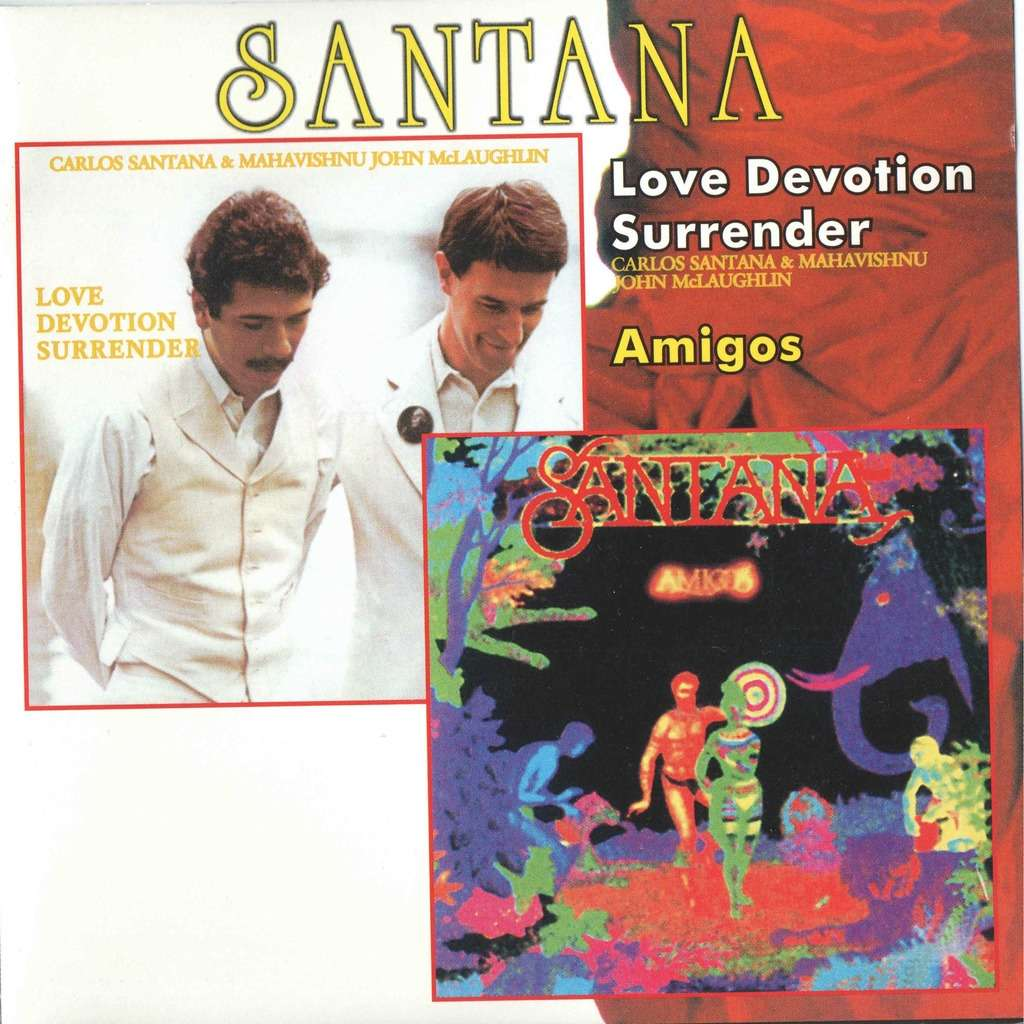 santana Love Devotion Surrender / Amigos