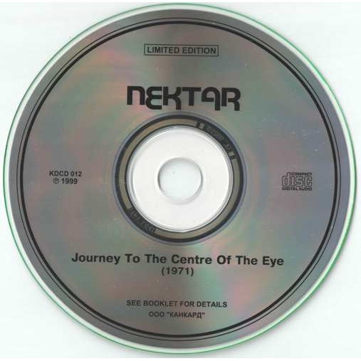 nektar Journey To The Centre Of The Eye