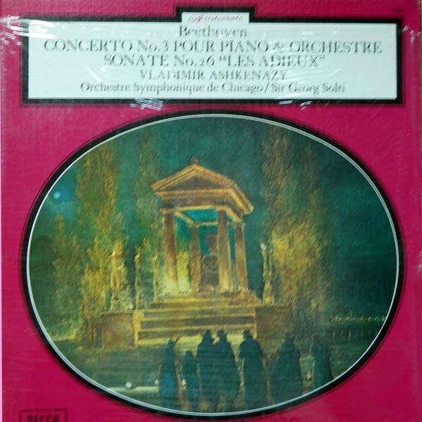 Vladimir Ashkenazy Beethoven : Concerto piano n°3